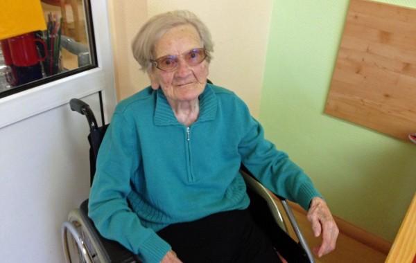 Gertrud Trucks feierte im September 2013 ihren 101. Geburtstag