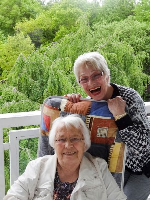 Frau Küster und ihre Mutter