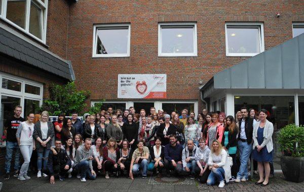 Auszubildende der AWO Pflege Schleswig-Holstein
