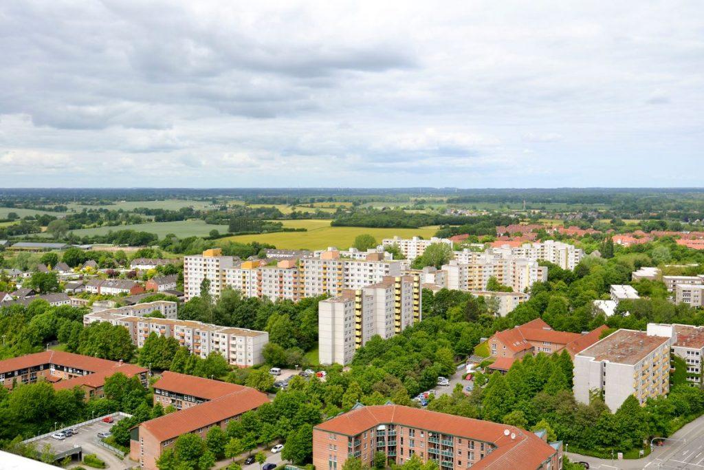 Mettenhof von oben