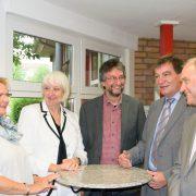 Gitta Doege, Brigitte Döcker, Uwe Braun, Gerwin Stöcken, Michael Selck (v.l.)