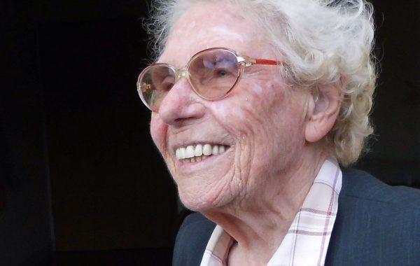 Die hundertjährige Anne-Marie Greve