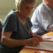 Brigitte Schirmer, Teilnehmerin an der Schreibwerkstatt