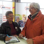 Karin Albert im Gespräch mit Gerhard Wollert