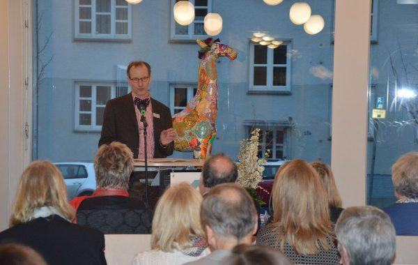 Dr. Michael Hempel vom Ministerium für Soziales, Gesundheit, Wissenschaft und Gleichstellung