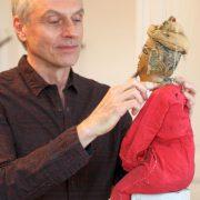 Dietmar Schwenck und seine Marionette
