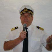 Der Kapitän in Aktion