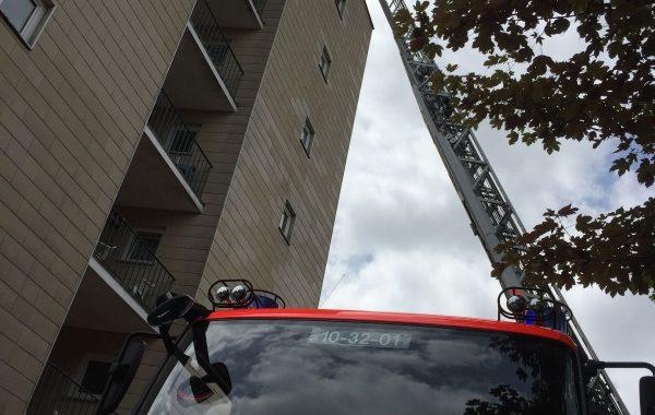 Die Feuerwehr in Aktion